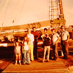 Gene and family,Wendell and family on Madeline Island