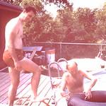 Gene & Jim getting the tube ready... abt 1984
