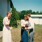 Lori, Kristin , Gene... John & Pam's Wedding at Grace Baptist Church... in Iron River Wis.