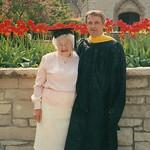 Mom & Gene... UWM graduation.. abt 1991