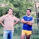 Gene and Bob at St Finbars
