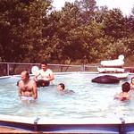 Pool at ST Finbars.. Jim, Gene, Kristin, Shirley... abt 1982