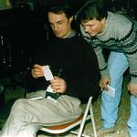 Gene & John.. at 7225 Hadley (based on folding chair)