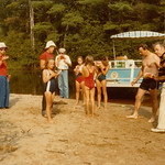 Going up the Somo River... Tomahawk.. Jean, Shirl, Dave, Lindy, Jim, Kristin, Lori, Tammy, Gene & Wendy