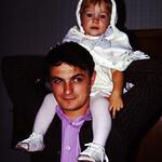 Lori and Dad abt 1973