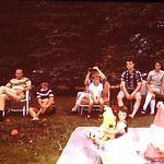 Tammy's 2nd birthday, Jeff,Jim, Shirley,Dave,Ron,Eugene,Jamie,Tammy,Diane 1971