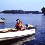 You row!... Gene & Tammy... 1973