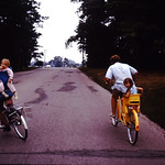 Heavy loads. Gene and Lori--Fred schmitt? and Tammy--abt 1974