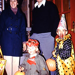 The hobo and the clown--Tammy, Lori, Diane and Gene