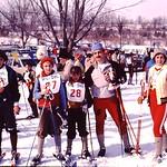 EGM's sking at West Bend... abt 1983