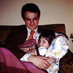 Tammy and Dad 1974