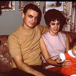 Tammy & Mom & Dad at Grandma Mark's