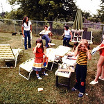 Marcy,Gene,Olive,Diane,Lori,Kristin and a bit of Tammy at St Finbars