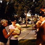 Lori, Tammy, Grandma Mark, and Gene