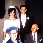 Flora & Mr Stamm at Gene & DIane's Wedding.... neighbors/friends from 29th St.
