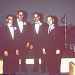 The boys at Gene & Diane Wedding... 1967