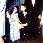 Flower girl and ring bearer-Terry and Marcy Eugene Diane wedding