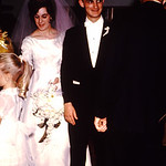 The reception line-Eugene and Diane wedding