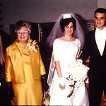 Reception line-Terry,Mom Mark,Diane& Gene,Olive Klevenow