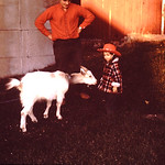 Tammy making friends abt 1971