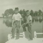 Bob & Gene at Tomahawk...abt 1958