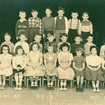 Eugene class picture 68th St... 1954