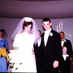 Newly married-Marcy, Helen John,Diane,Gene,Bob,Ron,Terry