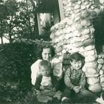 Janice, Gene & Bob... abt 1949