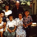 Coxes & Markiewiczs..Bob,Gene,Helen,Shirley & Janice... Irv, Doug Edna... 1961