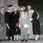 Wendell,Jim,Shirley,Helen,Eugene,Joe & Janice... Here's Doc Jim!... abt 1958